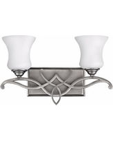 "Hinkley Brooke Collection 16 1/2"" Wide Bathroom Wall Light"
