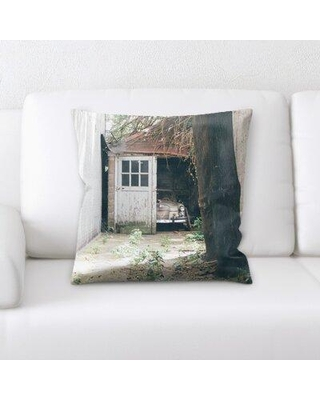 Latitude Run Lyster Old and Abandoned Throw Pillow BI137230