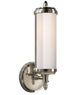 Merchant Wall Sconce by Visual Comfort - Color: White - Finish: Bronze - (TOB 2206BZ-WG)