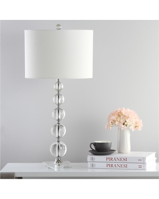 Can T Miss Deals On Liam Stacked Crystal Ball Table Lamp Safavieh