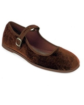 Nature Breeze Mary Jane Women's Flats in Brown