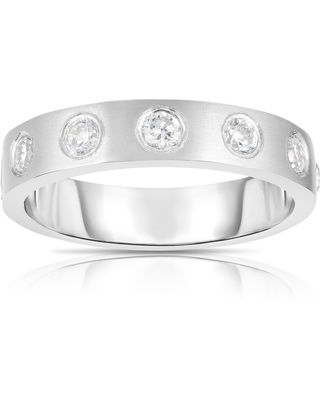 Noray Designs 14K Gold Diamond (0.40 Ct, G-H Color, SI2-I1 Clarity) Ring (8.5 - Yellow)