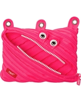Monster 3 Ring Pouch - Pink