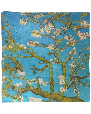 Almond Blossom Napkin (22 x 22 - Red - Cotton Blend)