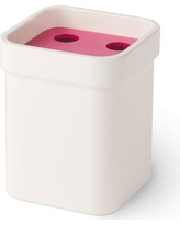 WS Bath Collections Curva Toothbrush Holder Curva 5146 Color: Pink