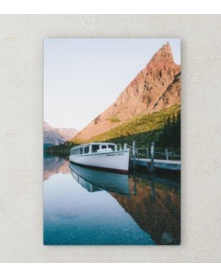 """Ebern Designs 'All Reflections' Photographic Print on Wrapped Canvas BI072064 Size: 30"""" H x 20"""" W x 2"""" D"""