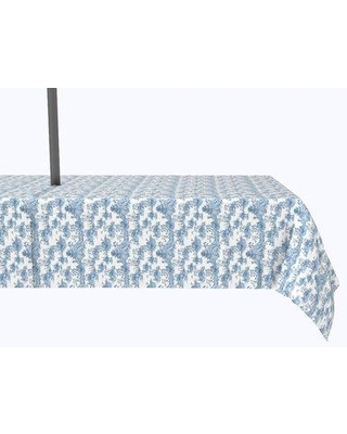 """Bloomsbury Market Yeet Chinoiserie Design Tablecloth X113010180 Size: 120"""" x 60"""""""