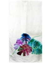 New Deal For Janke Monstera Leaves Beach Towel Bay Isle Home