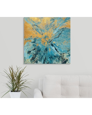 """GreatBigCanvas """"Earth and Water"""" by Roberto Gonzalez Canvas Wall Art, Multi-Color"""