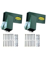 Eastern Jungle Gym Easy 1-2-3 A-Frame 2 Brackets for Swing Set with All Mounting Hardware, Green