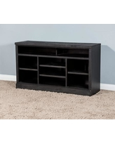 "Radcliff Factory Door Collection 3601CO-55 55"" TV Console with 4 Adjustable Shelves Holes for Wiring Clean Line Design and Wood Construction in"