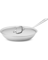 """All-Clad Tri-Ply Stainless-Steel Traditional Covered Fry Pan, 10"""""""