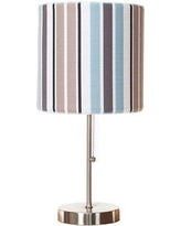 """Harriet Bee Ackley 12"""" Table Lamp, Linen/Metal, Size 12""""H X 24""""W X 12""""D 
