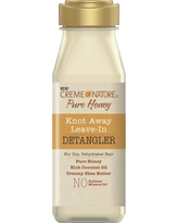 Cream of Nature Pure Honey Knot Away Leave-In Detangler - 8oz