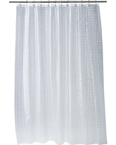 Cubic Shower Curtain Clear - Room Essentials