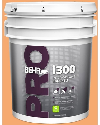 Get This Deal On Behr Pro 5 Gal P230 5 Florida Sunrise Eggshell Interior Paint