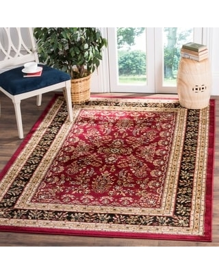 "Safavieh Lyndhurst Kuralay Traditional Oriental Rug (2'3"" x 4' - Red/Black)"