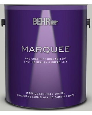 BEHR MARQUEE 1 gal. #PPF-29 Traditional Gray Eggshell Enamel Interior Paint and Primer in One