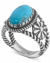 American West Turquoise Ring (4-1/5 ct. t.w.) in Sterling Silver - Sterling Silver