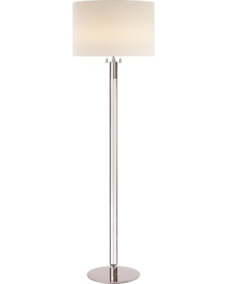 Heres A Great Price On Aerin Riga Crystal Floor Lamp Polished Nickel