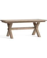 Toscana Extending Dining Table, Small, Seadrift