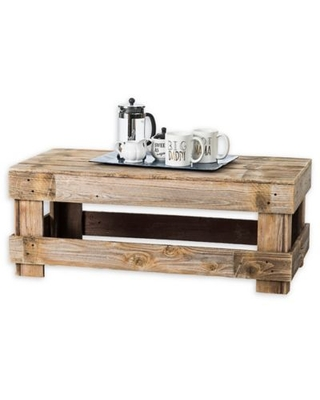 Del Hutson Designs® Fence Wood Coffee Table in Natural