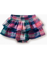 Tea Collection Plaid Ruffled Bloomers