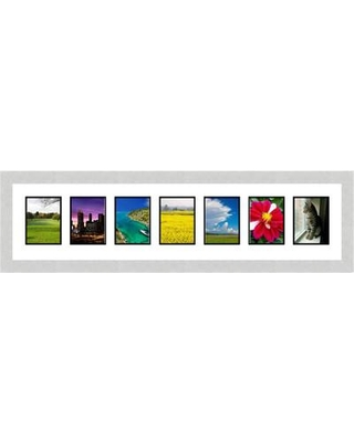 Frames By Mail 7 Opening Collage Picture Frame Mult Color Silver Size 5