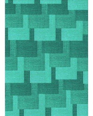 Great Prices For East Urban Home Dwight Geometric Wool Green Area Rug X113507656 Rug Size Rectangle 2 X 4