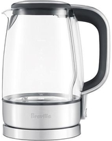 Breville 1.75 Qt. Glass/Stainless Steel Electric Tea Kettle BKE595XL