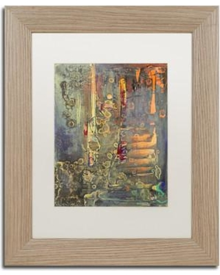 """Trademark Art 'Into The Dark' Framed Painting Print PS176-T1114MF / PS176-T1620MF Size: 14"""" H x 11"""" W x 0.5"""" D"""