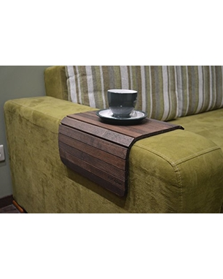 Amazing Deals On Wood Sofa Arm Tray 18x12 Inches Couch Side Table
