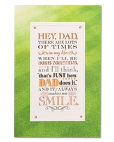 American Greetings Father's Day Card from Son with Foil