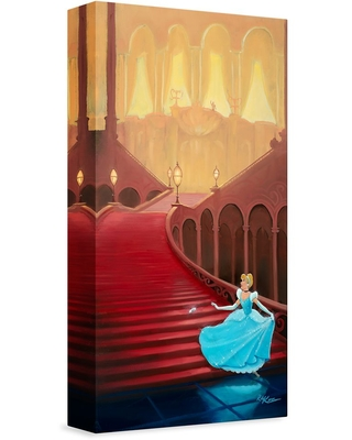 ''At the Stroke of Midnight'' Gicle on Canvas by Rob Kaz Limited Edition Official shopDisney