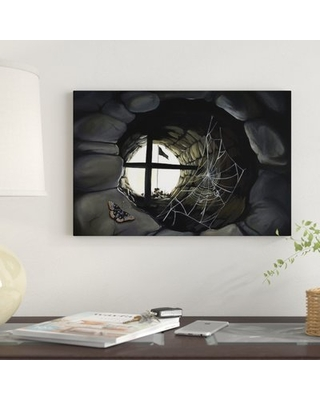 """'MD Book' Graphic Art Print on Canvas East Urban Home Size: 8"""" H x 12"""" W x 0.75"""" D"""
