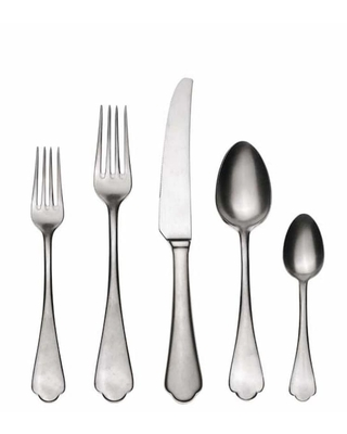 20-piece Stainless Steel Dolce Vita Flatware Set (Service for 4)