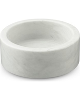 Marble Wine Coasters, White