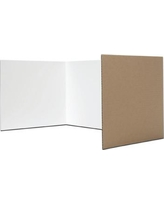 """Flipside Products Table Top Study Carrel 3 Panel Desk Privacy Panel 18""""H x 48""""W 61848"""