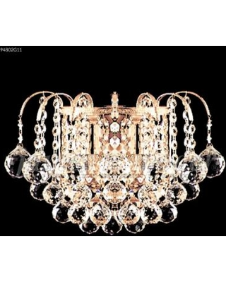 James R. Moder Jacqueline 12 Inch Wall Sconce - 94802G11