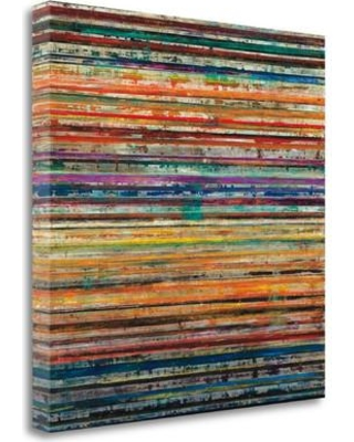 """Tangletown Fine Art 'Shattered Earth' Graphic Art Print on Wrapped Canvas CAGHP103-2020c Size: 20"""" H x 20"""" W"""