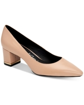 Calvin Klein Women's Nita Almond Toe Pumps Women's Shoes
