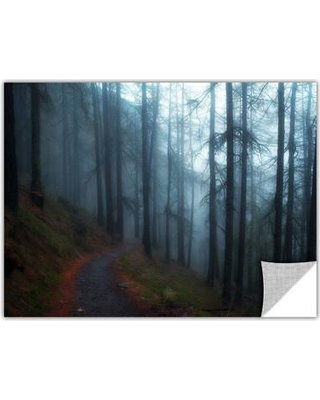"""ArtWall Woods by Revolver Ocelot Photographic Print, Paper in Blue, Size 32"""" H x 48"""" W 