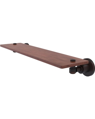 Allied Brass Washington Square Collection 22 in. Solid IPE Ironwood Shelf in Venetian Bronze