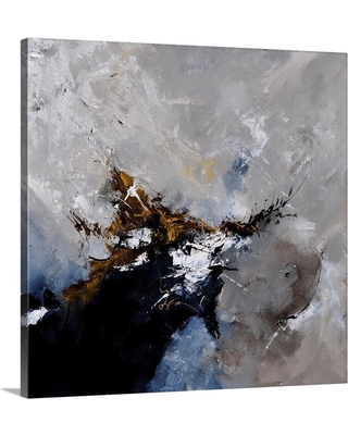 """GreatBigCanvas """"Abstract 8831802"""" by Pol Ledent Canvas Wall Art, Multi-Color"""