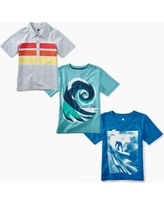 Tea Collection Waverider Tees Set