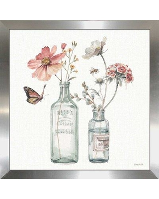 """Ophelia & Co. 'A Country Weekend X' Watercolor Painting Print BI110530 Size: 33.5"""" H x 33.5"""" W x 0.75"""" D"""