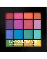 Nyx Professional Makeup Ultimate Shadow Palette Brights - 0.46oz