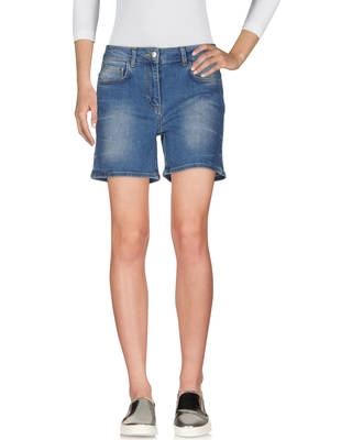 SCEE by TWIN-SET Denim shorts