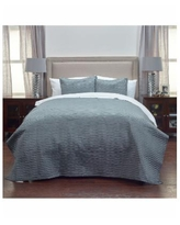 Riztex Usa Parker Quilt, King - Charcoal