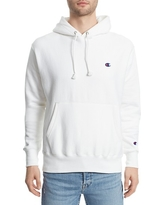 Men's Champion Reverse Weave Pullover Hoodie, Size X-Large - White